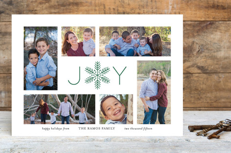 Stunner Holiday Photo Cards