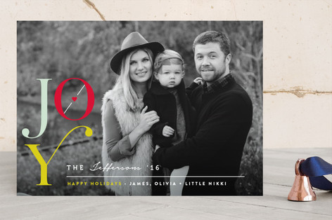The Heart of Joy Holiday Photo Cards