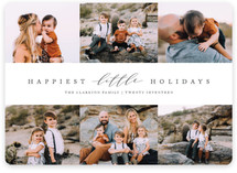 Merriest Little Xmas Holiday Photo Cards