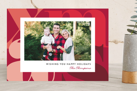 Merry Xmas Holiday Photo Cards