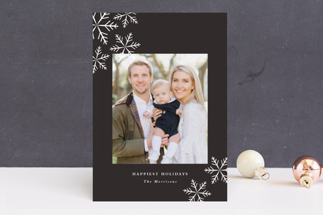 First Snow Holiday Photo Cards