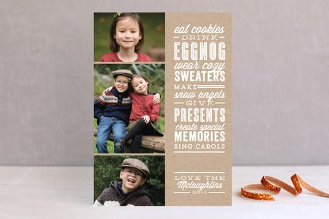 Season's Favorites Holiday Photo Cards