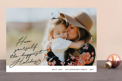 From the Heart Holiday Photo Cards