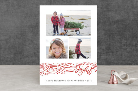 Jolly Branch Holiday Photo Cards