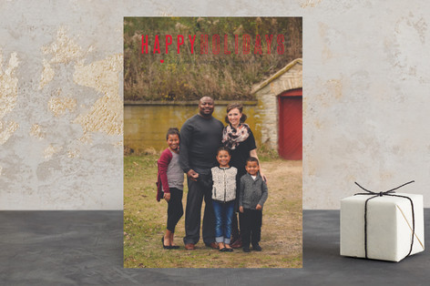 Simply Stated Holiday Photo Cards