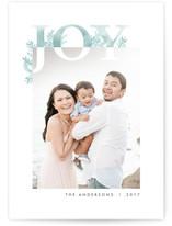 Corner Joy Holiday Photo Cards