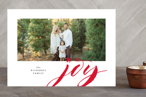 Jumbo Joy Holiday Photo Cards