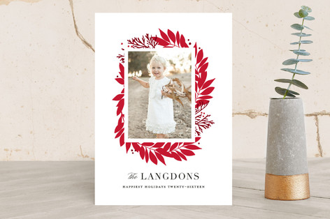 Dreamy Branches Holiday Photo Cards