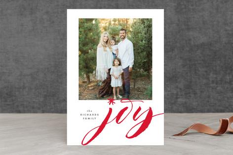 Jumbo Joy Holiday Photo Cards