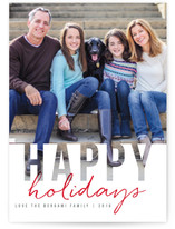 Christmas Cutout Holiday Photo Cards
