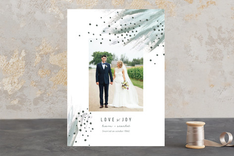 Shimmering Statement Holiday Photo Cards