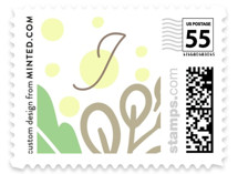 Christened Garden Baby and Kids Stamps