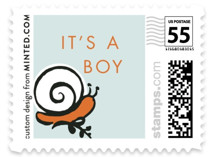 Frogs and Snails Baby and Kids Stamps