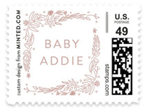 Delicate Collage Baby and Kids Stamps