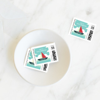 Sail-ebrate Baby and Kids Stamps