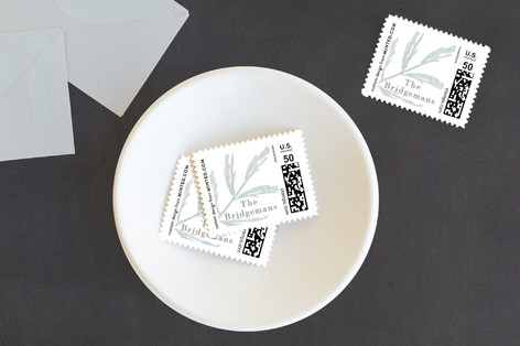 Elegant Foliage Baby and Kids Stamps