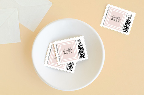 Foiled Frame Baby and Kids Stamps