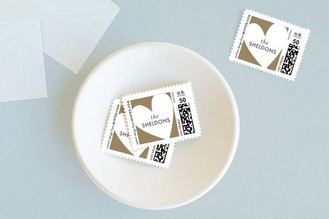 melting hearts Baby and Kids Stamps