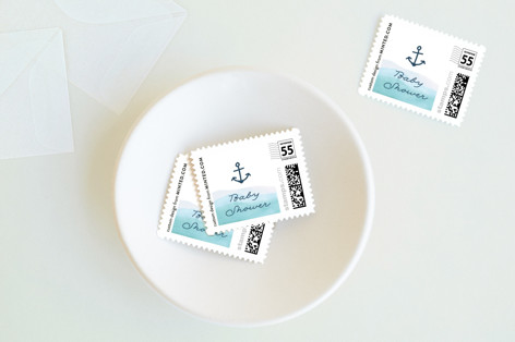 Little Sailor Baby and Kids Stamps