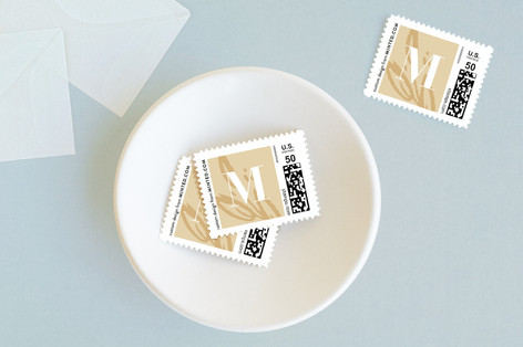 Gold Leaf Baby and Kids Stamps