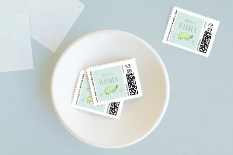 Nature's welcome Baby and Kids Stamps