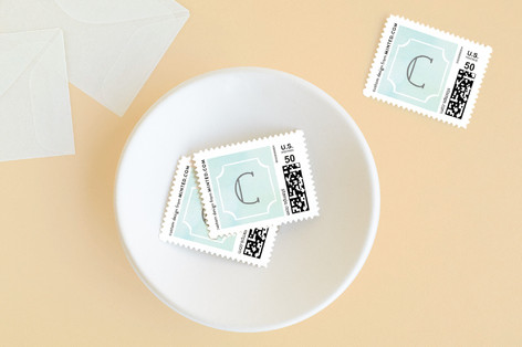 Ornate Frame Baby and Kids Stamps