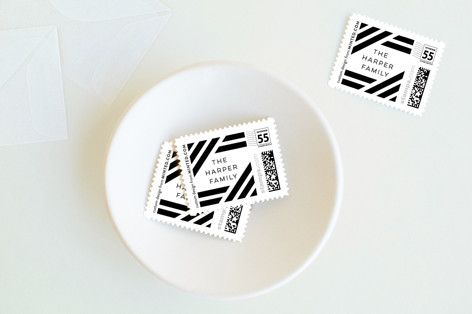 Bold Grid. Baby and Kids Stamps