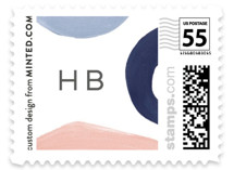 Modern Abstracts Baby and Kids Stamps