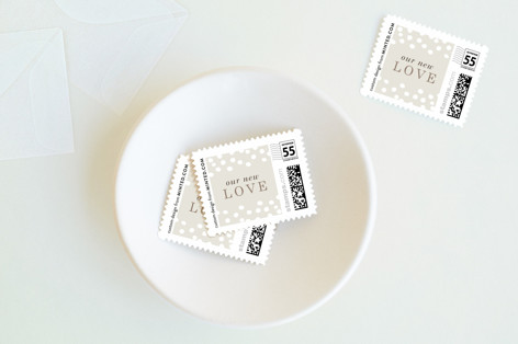 Gilded Dots Baby and Kids Stamps