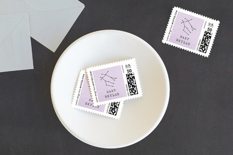 Little Gemini Baby and Kids Stamps