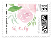 Watercolor Garden Baby and Kids Stamps