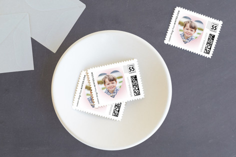 Heart Frame Custom Everyday Stamps