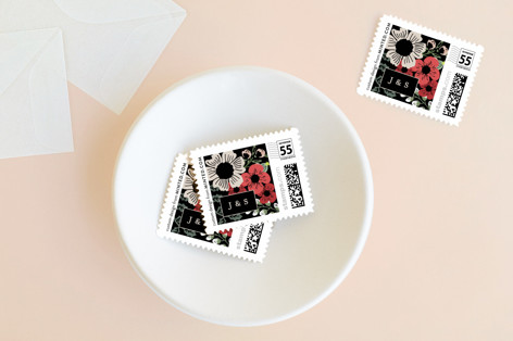 Soiree Holiday Custom Everyday Stamps