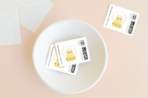 Cake Toppers Non-custom Everyday Stamps