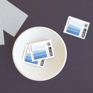 Watercolour Stripe Non-custom Everyday Stamps
