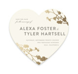 In Bloom Foil-Pressed Save The Date Cards