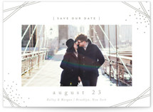 tortina Letterpress Save the Date Cards