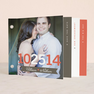 The Big Event Save the Date Minibook™ Cards
