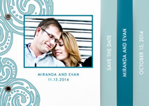 Contemporary Chic Save the Date Minibook&amp;trade; Cards