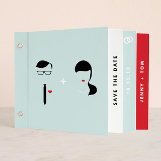 Visage Save The Date Minibooks