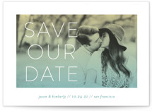 Bright Future Save the Date Petite Cards