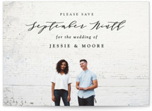 New Style Save the Date Petite Cards