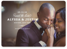 Timeless Save the Date Magnets