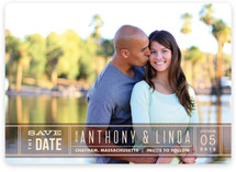Silver Screen Save the Date Magnets