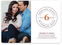Diamond Ring Save the Date Magnets