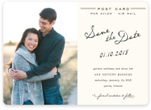 Airmail Save the Date Magnets