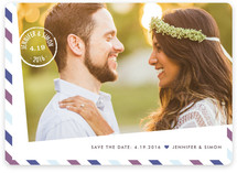 Going Postal Save the Date Magnets