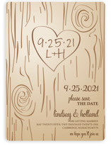 Fall Carving Save the Date Magnets
