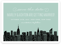 Big City New York Save the Date Magnets