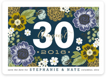 Cottage Garden Save the Date Magnets